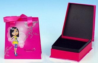 Šperkovnice Briliantina - pink - neuveden