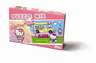 Puzzle 80/160 - Hello Kitty - neuveden