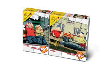 Puzzle Mix 80/160 - Pat a Mat - neuveden