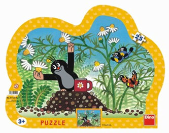 Krtek s hrníčkem - Puzzle 25 - neuveden