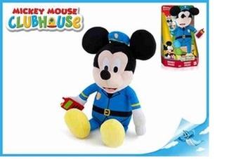 Mickey Mouse plyšový policista 30cm