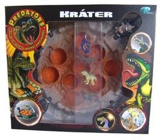 Predators hra sopka s UV svítilnou