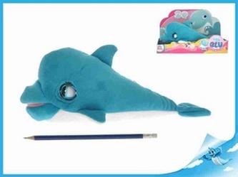 Delfínek Holly plyšový se zvukem na baterie