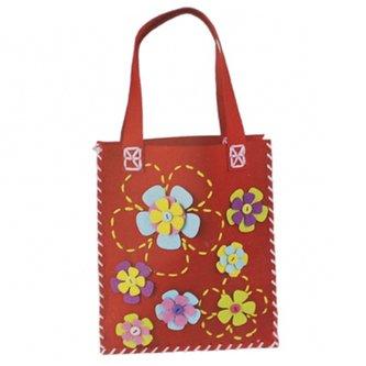 Kompletní kreativní sada pro šití tašky nebo kabelky