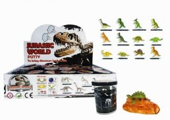 Sliz - hmota Dinosaurus 6cm (1ks)
