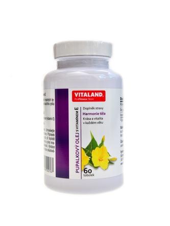 Vitaland - Pupalkový olej 60 kapslí