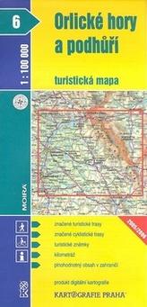 1:100T ( 6)-Orlické hory (turistická mapa)