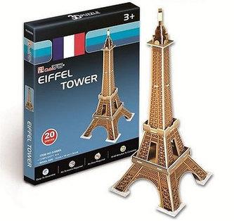 Puzzle 3D Eiffelova věž - 20 dílků - neuveden
