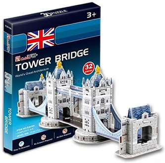 Puzzle 3D Tower Bridge - 32 dílků - neuveden