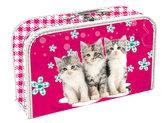 Kufřík papírový - Cats