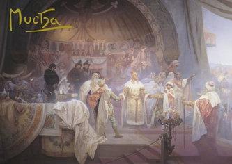 Presco Group - Pohled Alfons Mucha – Přemysl Otakar II., krátký (Slovanská epopej)