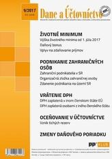 Dane a účtovníctvo 9-2017
