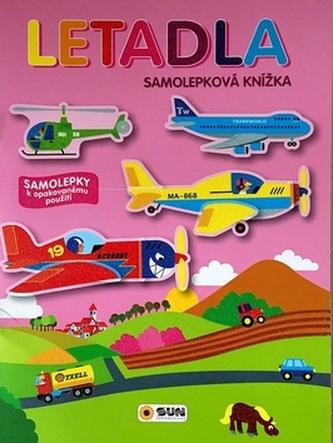 Letadla - samolepková knížka - neuveden