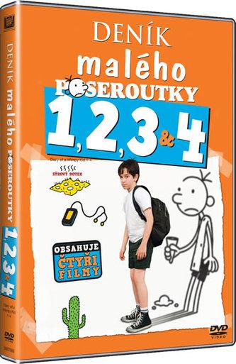 Deník malého poseroutky 1-4 - DVD - neuveden