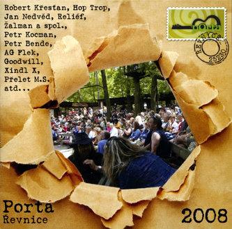 Porta Řevnice 2008 - CD - neuveden