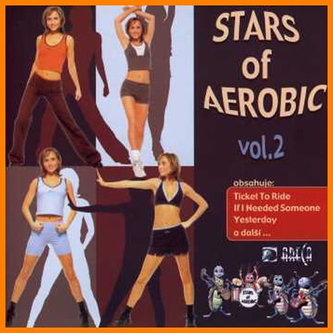 Stars Of Aerobic vol.2 With Beatles - CD - neuveden