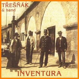Třešňák & Band - Inventura - CD - neuveden