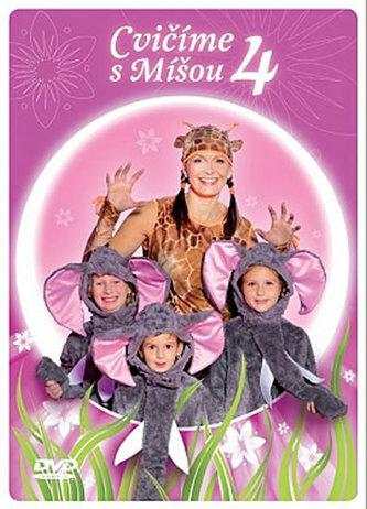 Cvičíme s Míšou 4 - DVD - neuveden