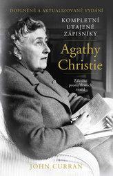 Kompletní utajené zápisníky Agathy Christie - Zákulisí promyšlených vražd