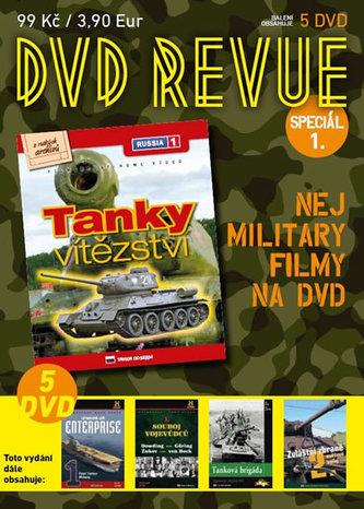 DVD Revue speciál 1 - Nej military filmy na DVD - 5 DVD - neuveden