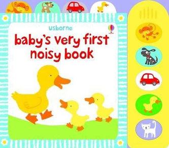 Babys Very 1st Noisy Book - neuveden