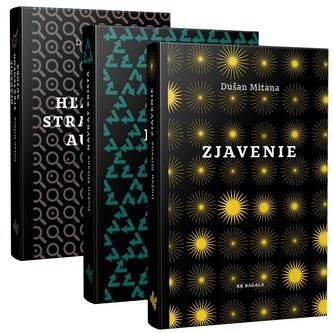 Mitana - Sada 3x kniha - Dušan Mitana