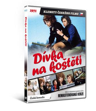 Dívka na koštěti - DVD - neuveden