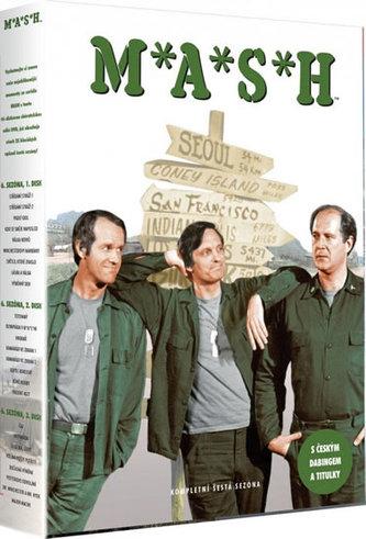 M.A.S.H. (seriál) - 6. sezóna (24 dílů) - 3DVD - neuveden