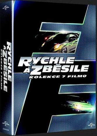 Kolekce Rychle a zběsile 1-7 - DVD - neuveden