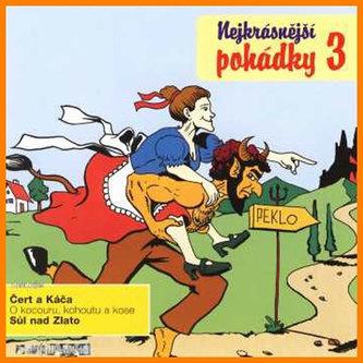 Nejkrásnější pohádky 3. - CD - neuveden