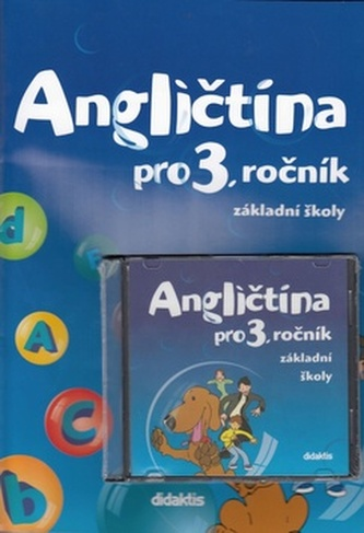 Angličtina pro 3. ročník základní školy Učebnice + CD - Pavol Tarábek