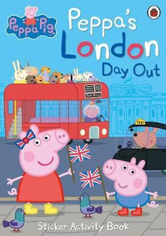 Peppa´s London Day Out: Sticker Activity Book - neuveden