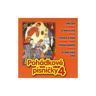 Pohádkové písničky 4 - CD - neuveden