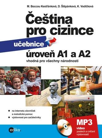 Čeština pro cizince A1 a A2 - Marie Boccou Kestřánková