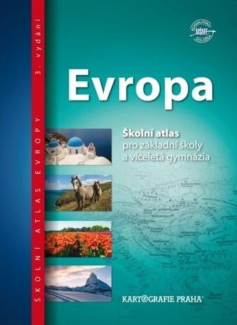 Evropa - Školní atlas pro ZŠ a víceletá gymnázia - neuveden