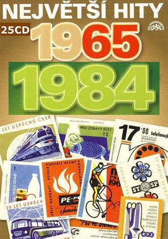 Nej české hity CZ 1965-1989 - 25CD