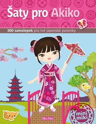 Šaty pro Akiko - kniha samolepek - neuveden