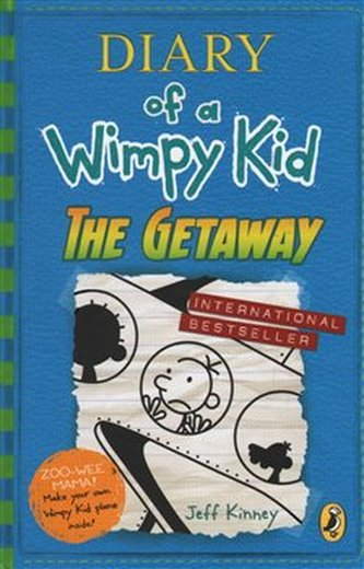 Diary of a Wimpy Kid 12 The Getaway - Kinney Jeff