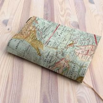 Obal na knihu Mapa barevná