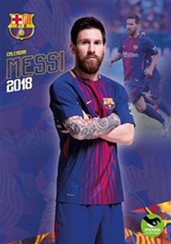 Messi - nástěnný kalendář 2018