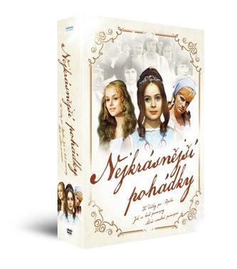 Nejkrásnější pohádky - Tři oříšky pro Popelku + Šíleně smutná princezna + Jak se budí princezny - 3 DVD - neuveden
