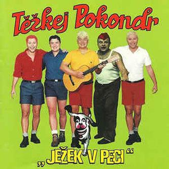 Těžkej Pokondr - Ježek v kleci - CD - Těžkej Pokondr