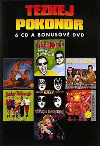 Těžkej Pokondr - Best of - 6CD/DVD - Těžkej Pokondr