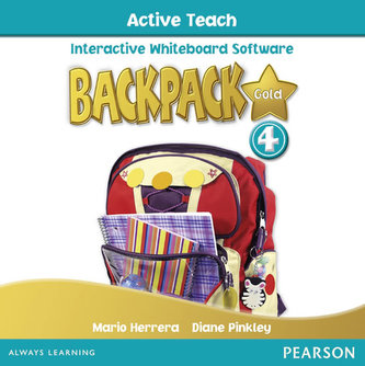 Backpack Gold 4 Active Teach New Edition - Pinkley Diane