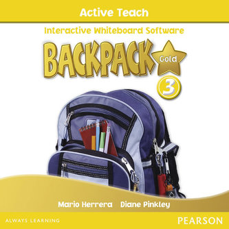 Backpack Gold 3 Active Teach New Edition CD - Pinkley Diane