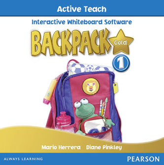 Backpack Gold 1 Active Teach New Edition - Pinkley Diane