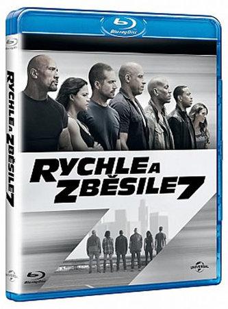 Rychle a zběsile 7 - Blu-ray - neuveden