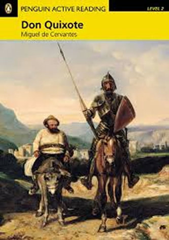 Level 2: Don Quixote Book and Multi-ROM with MP3 Pack - Miguel Cervantes de