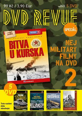 DVD Revue speciál 2 - Nej military filmy na DVD - 5 DVD - neuveden