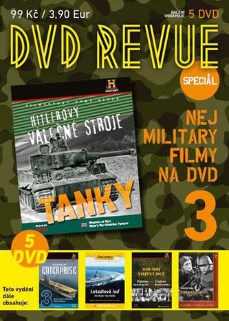 DVD Revue speciál 3 - Nej military filmy na DVD - 5 DVD - neuveden